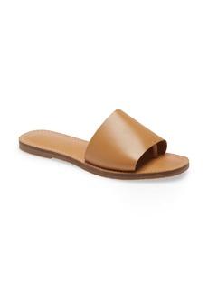 Madewell The Boardwalk Post Slide Sandal (Women)