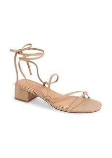 Madewell The Brigitte Lace-Up Sandal (Women)