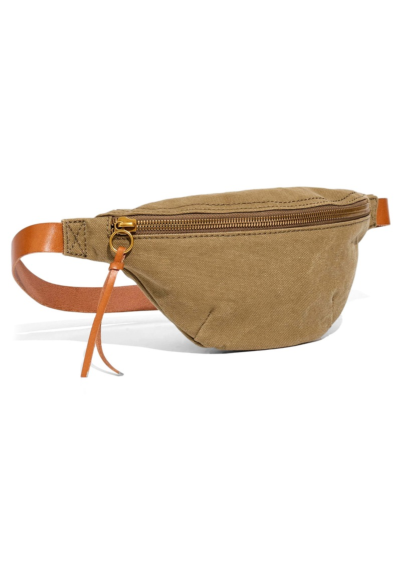 Madewell The Canvas Fanny Pack