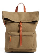 Madewell The Canvas Foldover Backpack