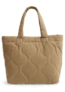 Madewell The Canvas Transport Tote Quilted Edition