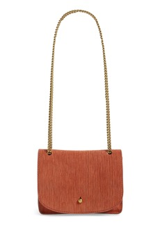 Madewell The Chain Corded Leather Crossbody Bag