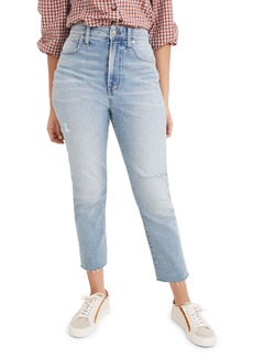 Madewell The Curvy Perfect Jean: Worn-In Edition (Coffey Wash)