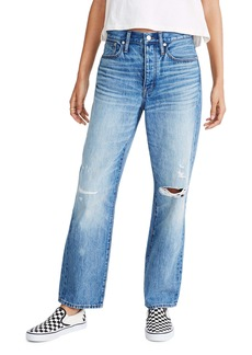 Madewell The Dad Jean Ripped Edition (Summerfield Wash)