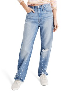 Madewell The Dadjean Bleached High Waist Jeans (Townsley)