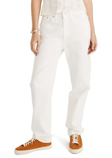 Madewell The Dadjean Jeans (Tile White)