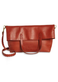 Madewell The Foldover Transport Tote: Whipstitched Edition