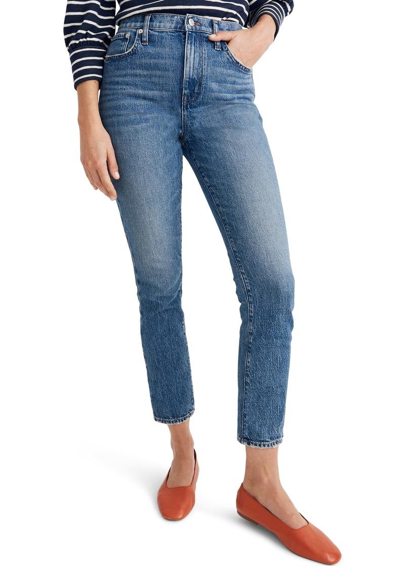 Madewell The High Rise Slim Boy Jeans (Lavern Wash)