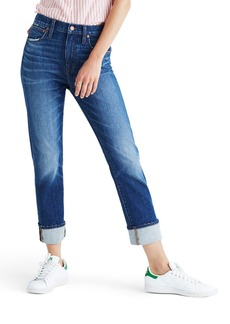 Madewell The High-Rise Slim Boyjean