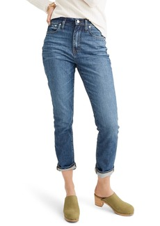 Madewell The High Waist Slim Boyjean Boyfriend Jeans (Evangeline)