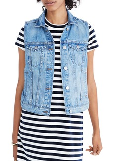 Madewell The Jean Vest