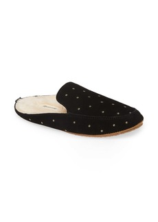 Madewell The Loafer Embroidered Scuff Slipper (Women)