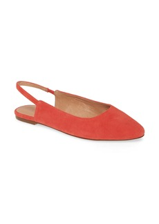 Madewell The Margot Slingback Flat (Women)
