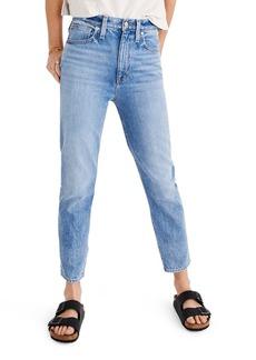 Madewell The Momjean High Waist Jeans (Melva)