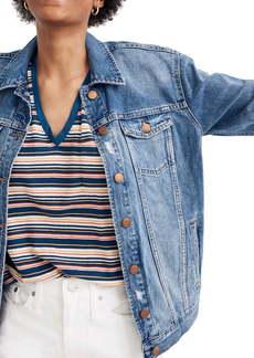 Madewell The Oversized Jean Jacket