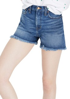 Madewell The Perfect High Waist Denim Shorts (Callahan Wash)
