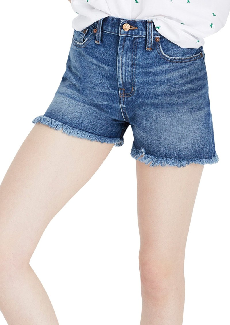 91a5c6007 Madewell Madewell The Perfect High Waist Denim Shorts (Callahan Wash ...