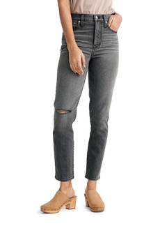 Madewell The Perfect Ripped Jeans (Connell Wash)