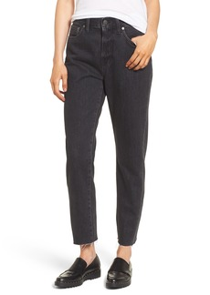 Madewell The Perfect Summer 11-Inch High Waist Ankle Straight Leg Jeans (Crawley)