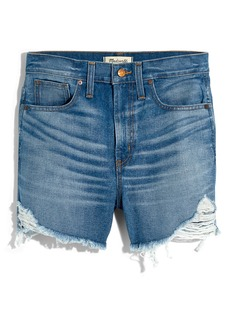 Madewell The Perfect Vintage Denim Shorts