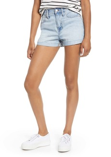 Madewell The Perfect Vintage High Waist Cutoff Shorts (Fitzgerald Wash)