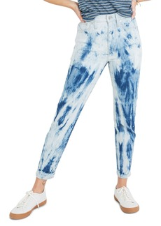 Madewell The Perfect Vintage Jeans (Tie Dye Indigo)