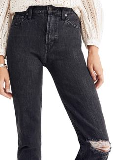 Madewell The Perfect Vintage Ripped Knee Jeans (Roxstone)