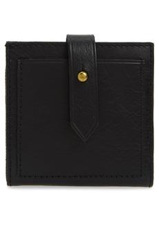 Madewell The Post Billfold Wallet