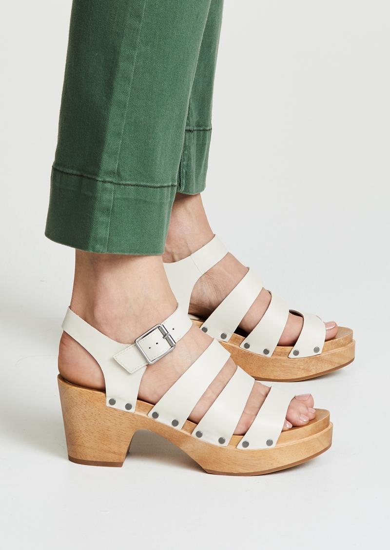 cc0d7d93483 Madewell Madewell The Sigrid Clog Sandals