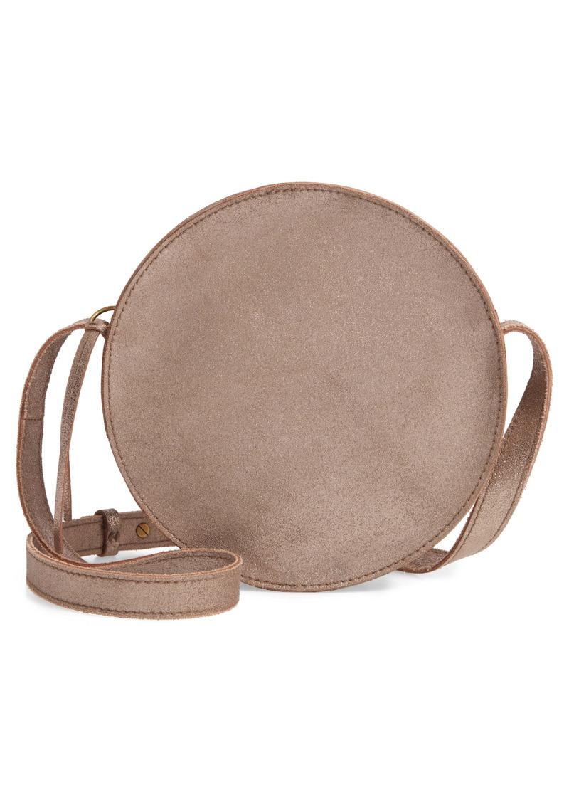 Madewell The Simple Circle Crossbody: Metallic Edition