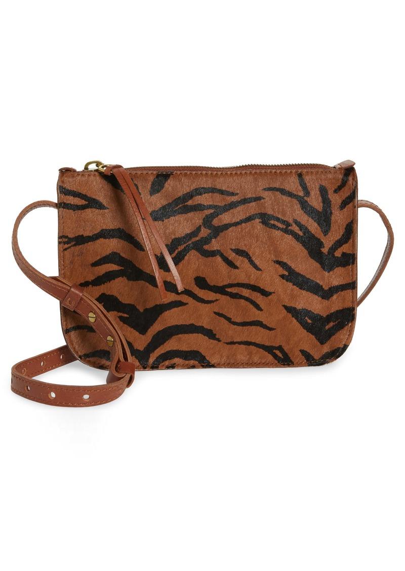 Madewell The Simple Genuine Calf Hair Crossbody Bag