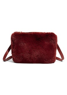 Madewell The Simple Pouch Faux Fur Belt Bag