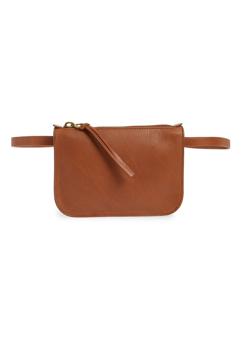 f676db67624c2d Madewell Madewell The Simple Pouch Belt Bag Now $54.50