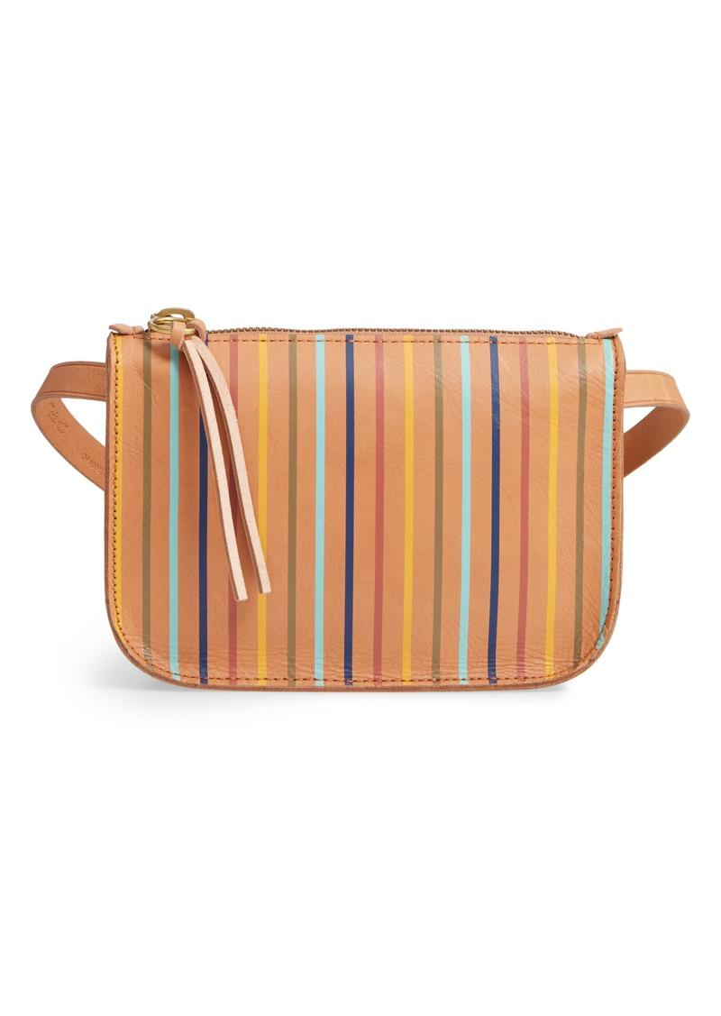 The Simple Rainbow Stripe Pouch Belt Bag