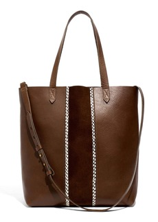 Madewell The Suede Inset Edition Medium Transport Tote