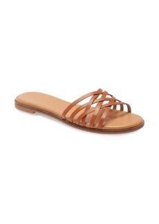 Madewell The Tracie Crisscross Slide Sandal (Women)