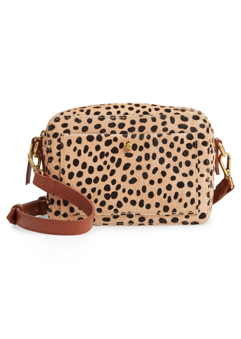 Madewell The Transport Camera Bag: Dotted Calf Hair Edition