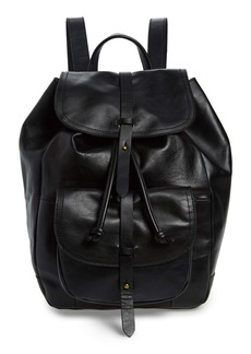 Madewell 'The Transport' Leather Rucksack