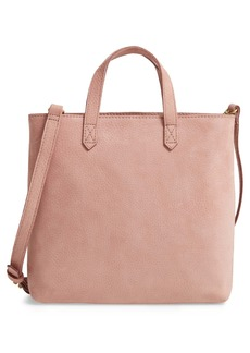 Madewell The Zip Top Transport Leather Shoulder Bag