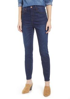 Madewell Thermolite Curvy High Waist Skinny Jeans (Tarren)