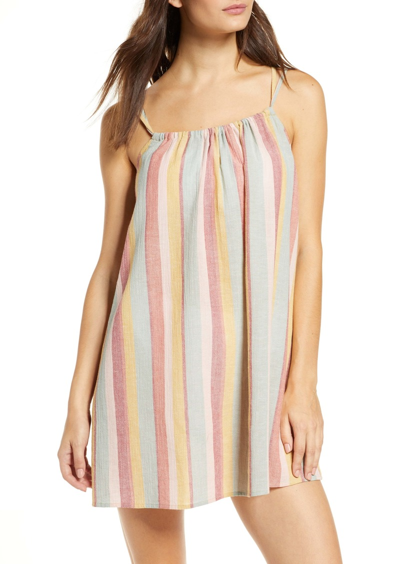 Madewell Tie-Back Cover-Up Minidress