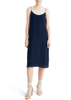 Madewell Tie Back Silk Slipdress