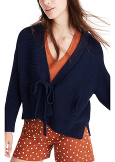 Madewell Tie Front Cardigan