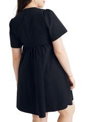 Madewell Tie-Front Minidress