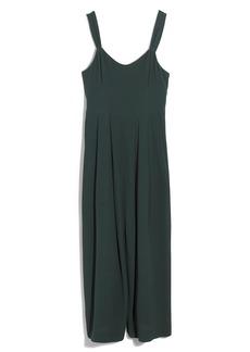 Madewell Tie-Strap Midi Dress