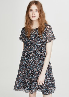 Madewell Tiered Mini Dress