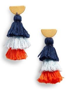 Madewell Tiered Tassel Earrings