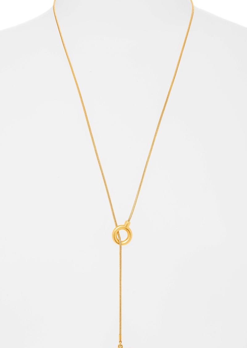 Madewell Toggle Lariat Necklace
