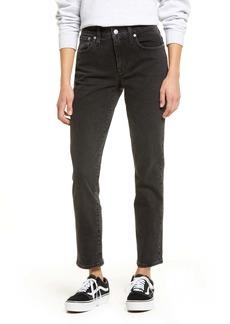 Madewell Tomboy Straight Leg Jeans (Lunar)