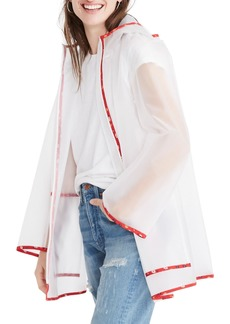 Madewell Translucent Raincoat